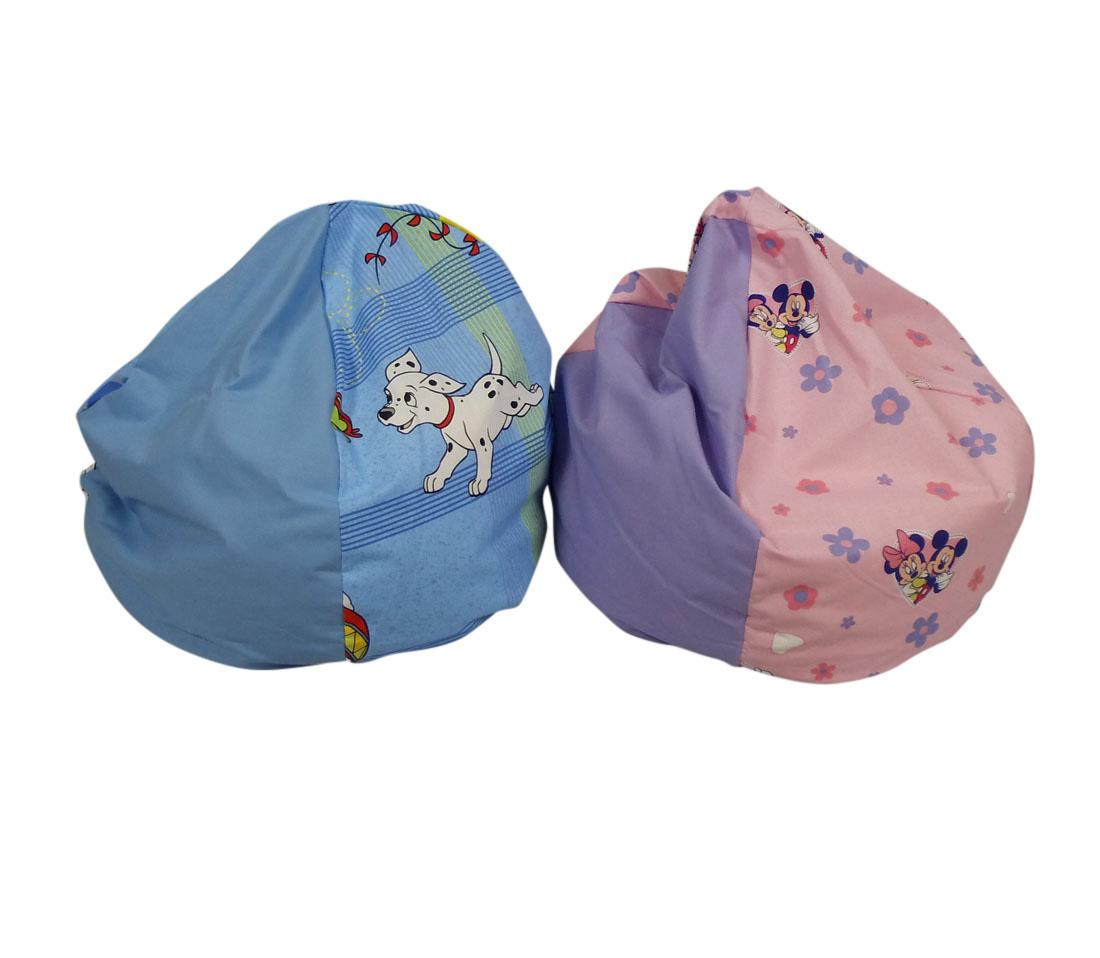 Baby sækkestol med Disney print og navn - Personlig